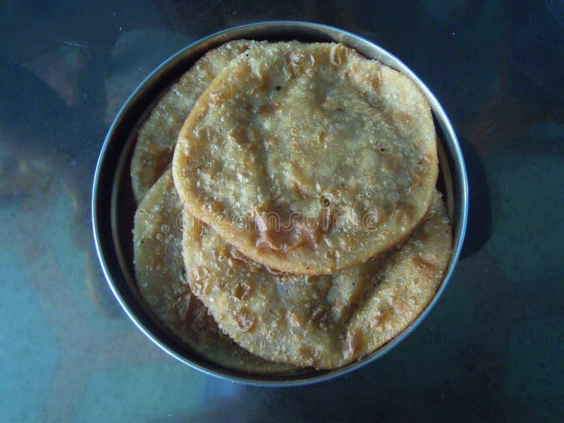 Ένα εύγευστο πιάτο στην ανατολική Ινδία στοκ εικόνες