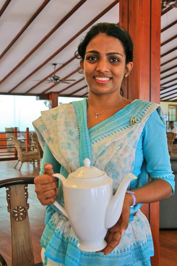 Ένα ζεστό καλωσόρισμα στη Σρι Λάνκα στοκ φωτογραφία με δικαίωμα ελεύθερης χρήσης