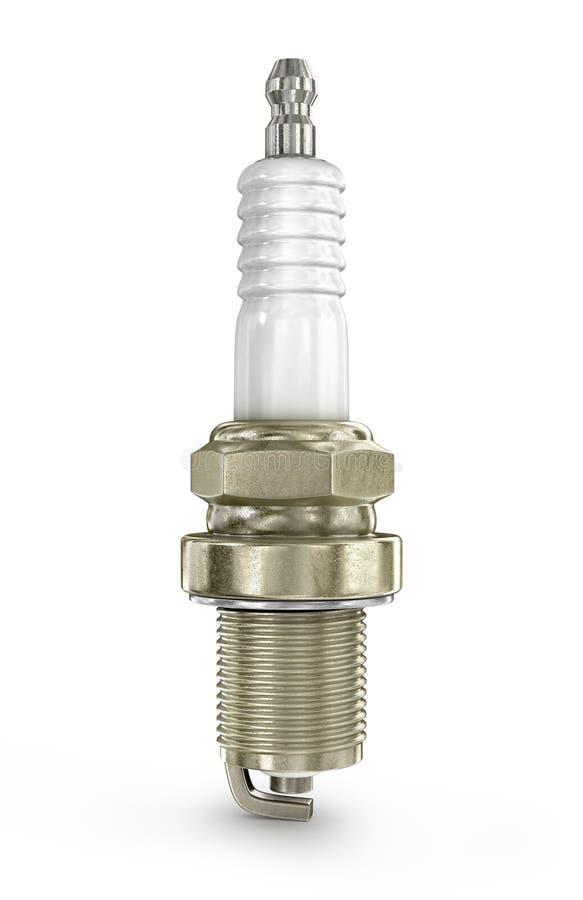 Ένα ζωηρόχρωμο τρισδιάστατο Sparkplug διανυσματική απεικόνιση