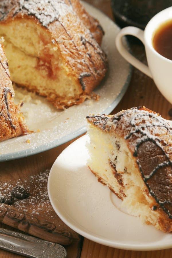 Ένα κέικ μπισκότων με τη σοκολάτα στοκ φωτογραφίες με δικαίωμα ελεύθερης χρήσης
