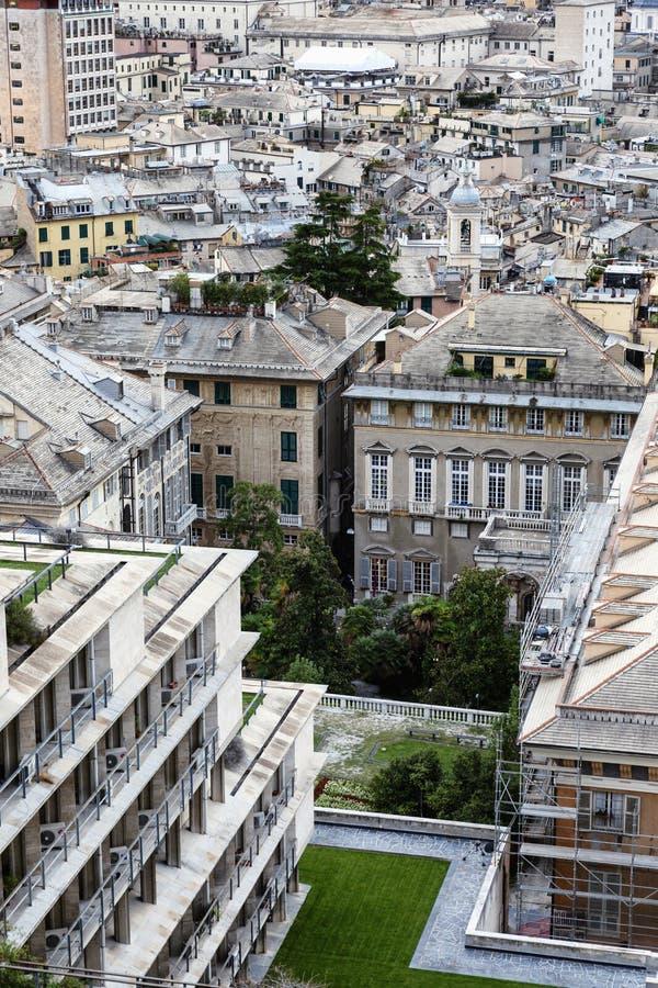 Ένα κατάστρωμα παρατήρησης με όμορφες όψεις της υπέροχης αρχιτεκτονικής της παλιάς πόλης στοκ φωτογραφίες με δικαίωμα ελεύθερης χρήσης