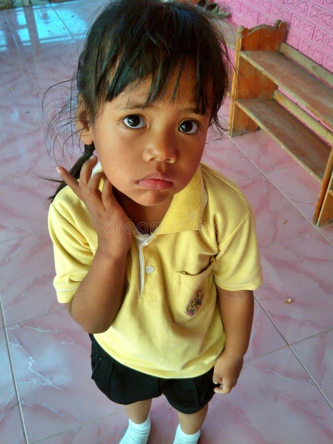 Ένα κορίτσι liitle στοκ εικόνα με δικαίωμα ελεύθερης χρήσης