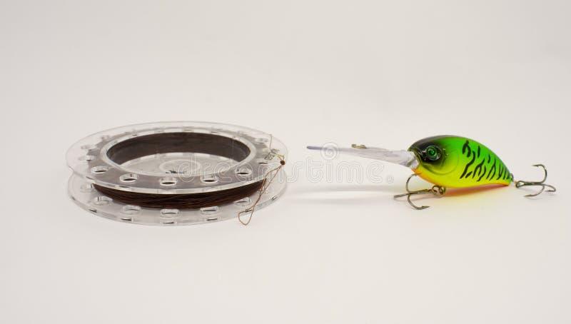 Ένα κουτάλι για τα δραστήρια αρπακτικά ψάρια Αλιευτικό εργαλείο στοκ φωτογραφίες