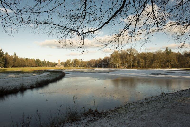 Ένα κρύο winterday στοκ φωτογραφίες με δικαίωμα ελεύθερης χρήσης