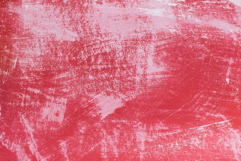 Ένα κόκκινο κενό υπόβαθρο σημαδιών στοκ εικόνα