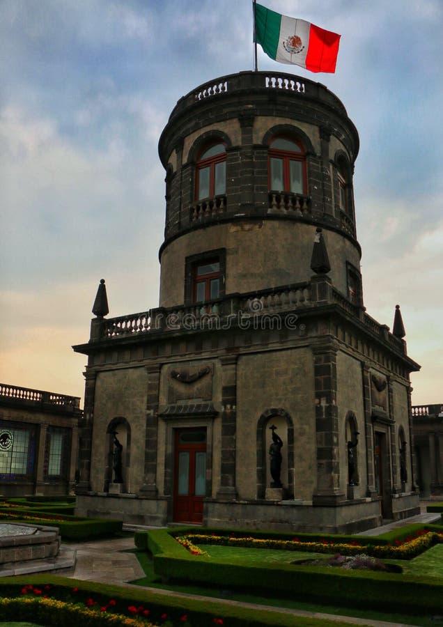 Ένα μέρος Chapultepec ` s Castle στοκ φωτογραφία με δικαίωμα ελεύθερης χρήσης