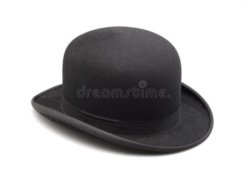 Ένα μοντέρνο μαύρο καπέλο σφαιριστών στοκ φωτογραφίες με δικαίωμα ελεύθερης χρήσης