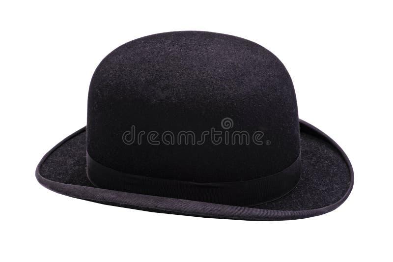 Ένα μοντέρνο μαύρο καπέλο σφαιριστών στοκ φωτογραφία με δικαίωμα ελεύθερης χρήσης