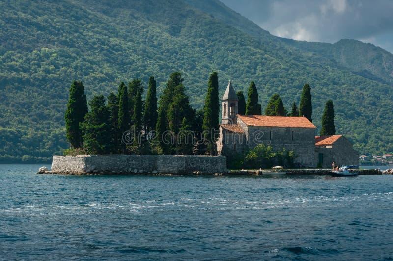 Ένα νησί αποκαλούμενο SV Djordje στοκ φωτογραφία