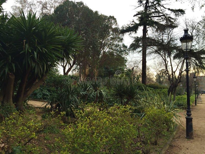Ένα πάρκο στην Ισπανία στοκ φωτογραφία με δικαίωμα ελεύθερης χρήσης