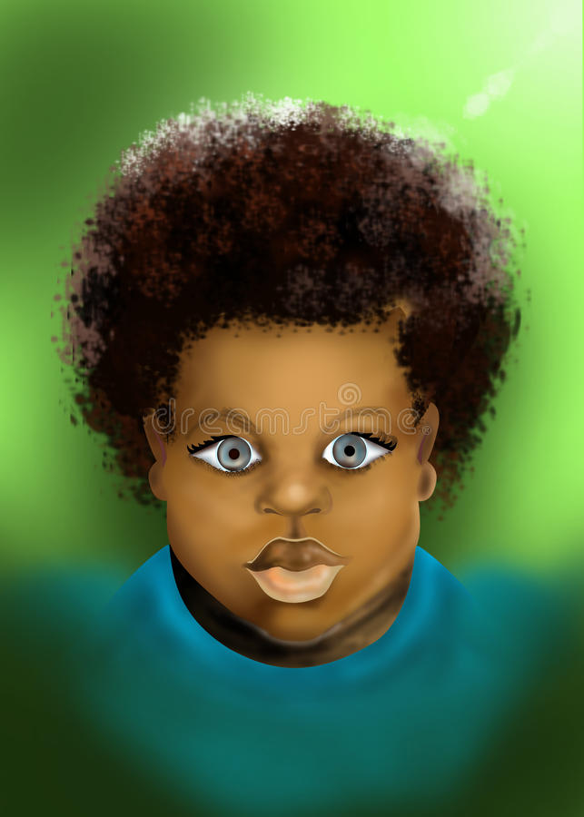 Ένα παιδί είναι ένα δώρο από το Θεό απεικόνιση αποθεμάτων