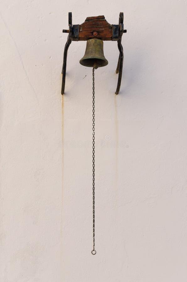 Ένα παλαιό κουδούνι στοκ φωτογραφίες