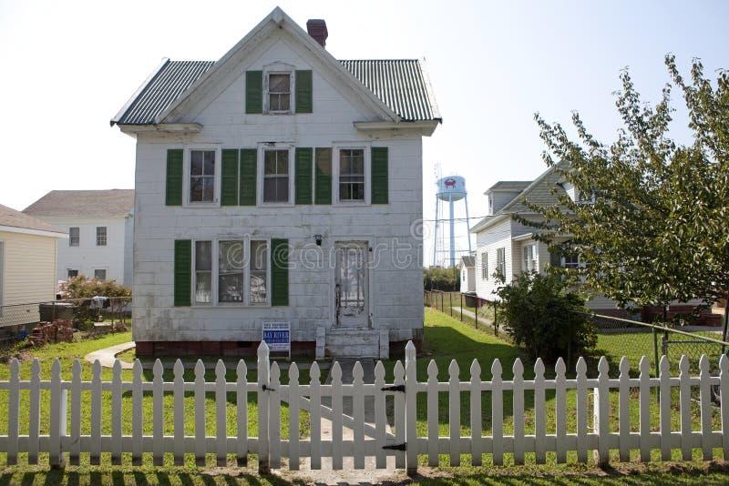 Ένα παλαιό σπίτι σε Chespeake στοκ φωτογραφία με δικαίωμα ελεύθερης χρήσης
