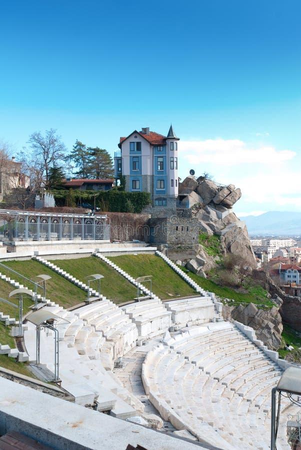 Παλαιό σπίτι σε Plovdiv, Βουλγαρία στοκ εικόνες με δικαίωμα ελεύθερης χρήσης