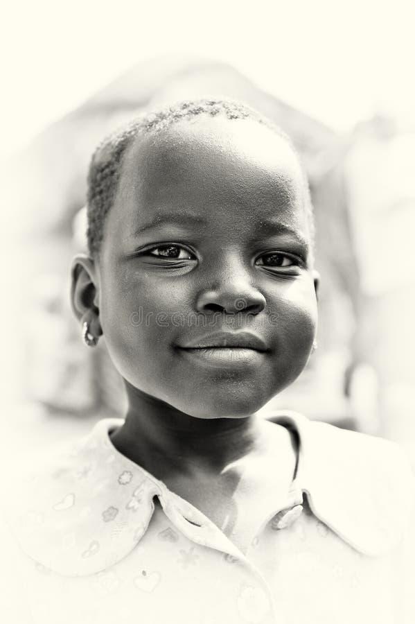 Ένα πορτρέτο ενός όμορφου από τη Γκάνα κοριτσιού στοκ φωτογραφία με δικαίωμα ελεύθερης χρήσης