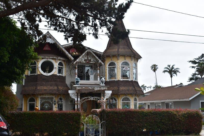 Ένα πραγματικό μαγικό σπίτι της κατάπληξης, 1 στοκ φωτογραφίες