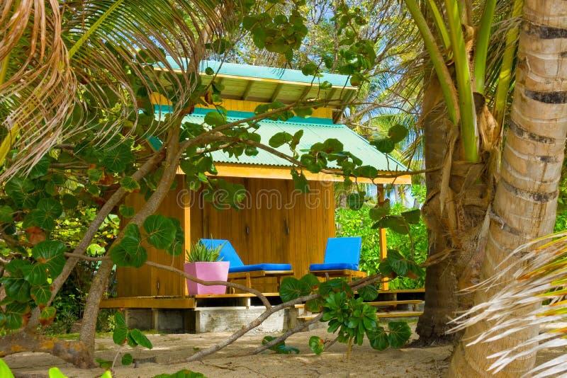 Ένα σπίτι ενοικίου στην παραλία φιλίας, Bequia στοκ εικόνες με δικαίωμα ελεύθερης χρήσης