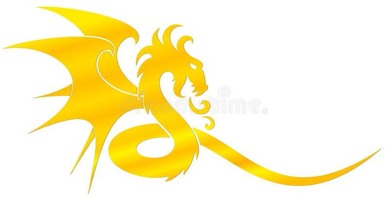Ένα σύμβολο δράκων απεικόνιση αποθεμάτων