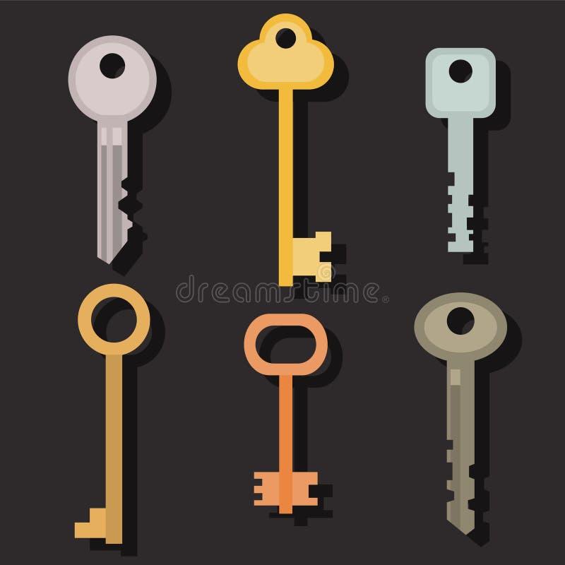Ένα σύνολο κλειδιών απεικόνιση αποθεμάτων