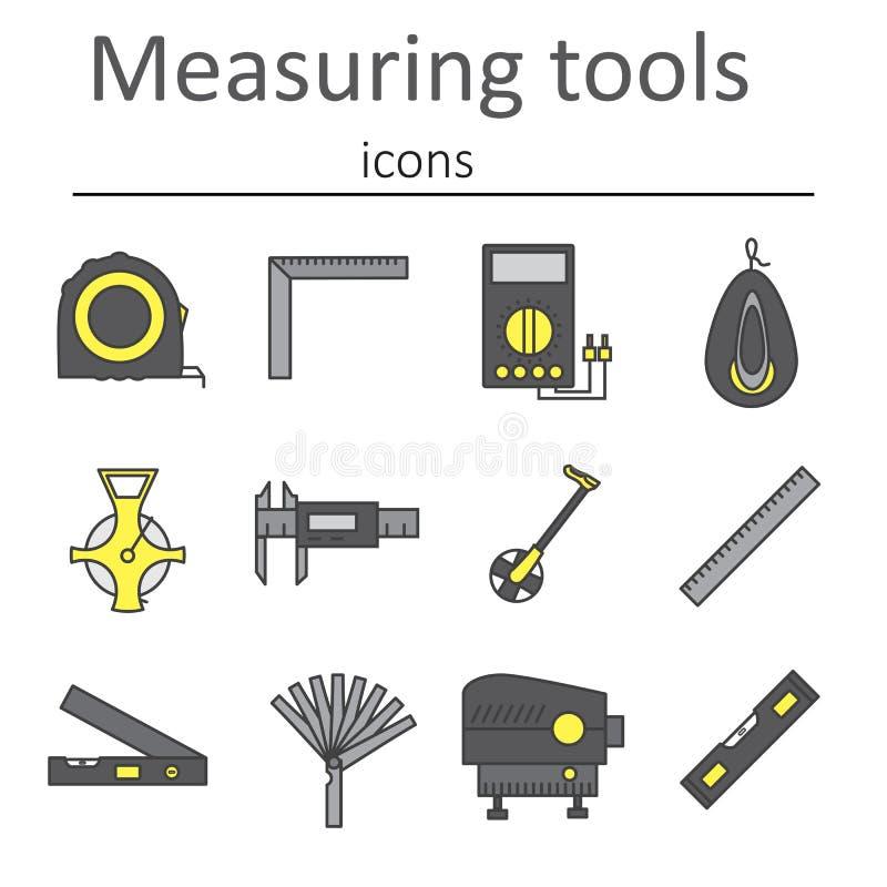 Ένα σύνολο οργάνου μέτρησης που χρησιμοποιείται στην κατασκευή για να μετρήσει τις αποστάσεις και άλλες μεταβλητές απεικόνιση αποθεμάτων