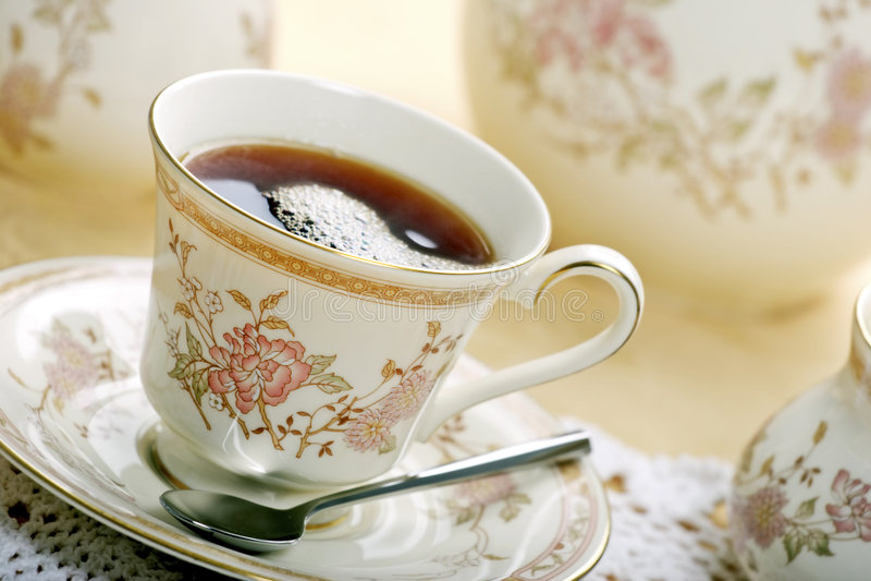 ένα τσάι στοκ εικόνα με δικαίωμα ελεύθερης χρήσης