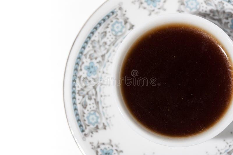 Ένα φλυτζάνι του τουρκικού καφέ στοκ φωτογραφίες