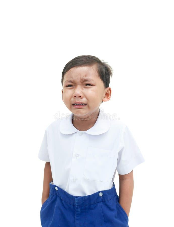 Ένα φωνάζοντας αγόρι στοκ φωτογραφίες με δικαίωμα ελεύθερης χρήσης