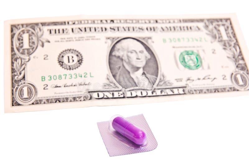 ένα χάπι στοκ εικόνα με δικαίωμα ελεύθερης χρήσης
