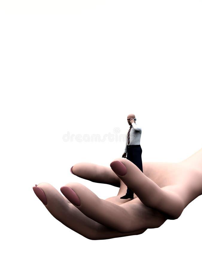Ένα χέρι βοηθείας 10 απεικόνιση αποθεμάτων