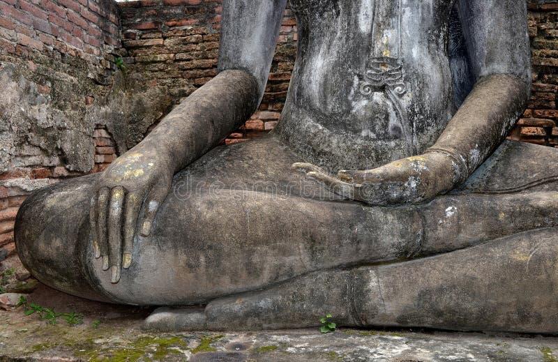 Ένα χέρι της εικόνας του Βούδα στοκ φωτογραφία με δικαίωμα ελεύθερης χρήσης