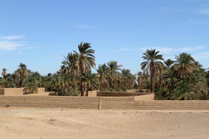 Ένα χωριό στη σουδανέζικη Σαχάρα στοκ φωτογραφίες με δικαίωμα ελεύθερης χρήσης