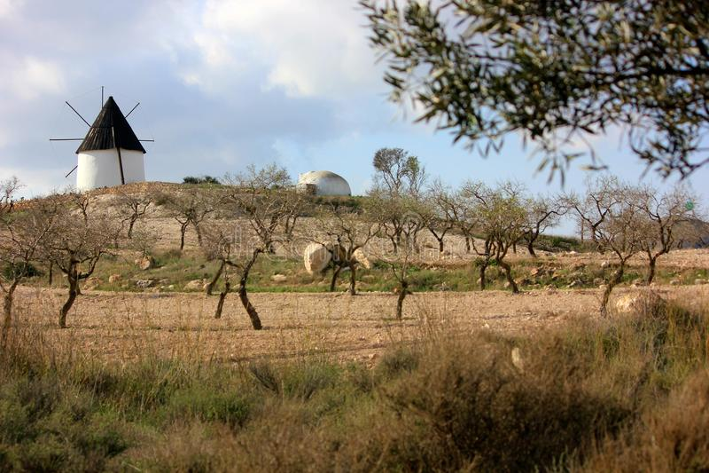 Ένα όμορφο απόγευμα στην Ισπανία στοκ εικόνα με δικαίωμα ελεύθερης χρήσης