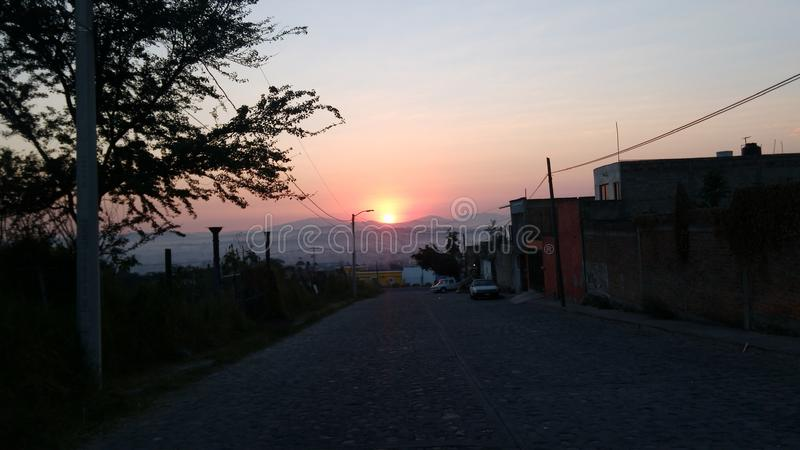 Ένα όμορφο ηλιοβασίλεμα στοκ φωτογραφία με δικαίωμα ελεύθερης χρήσης