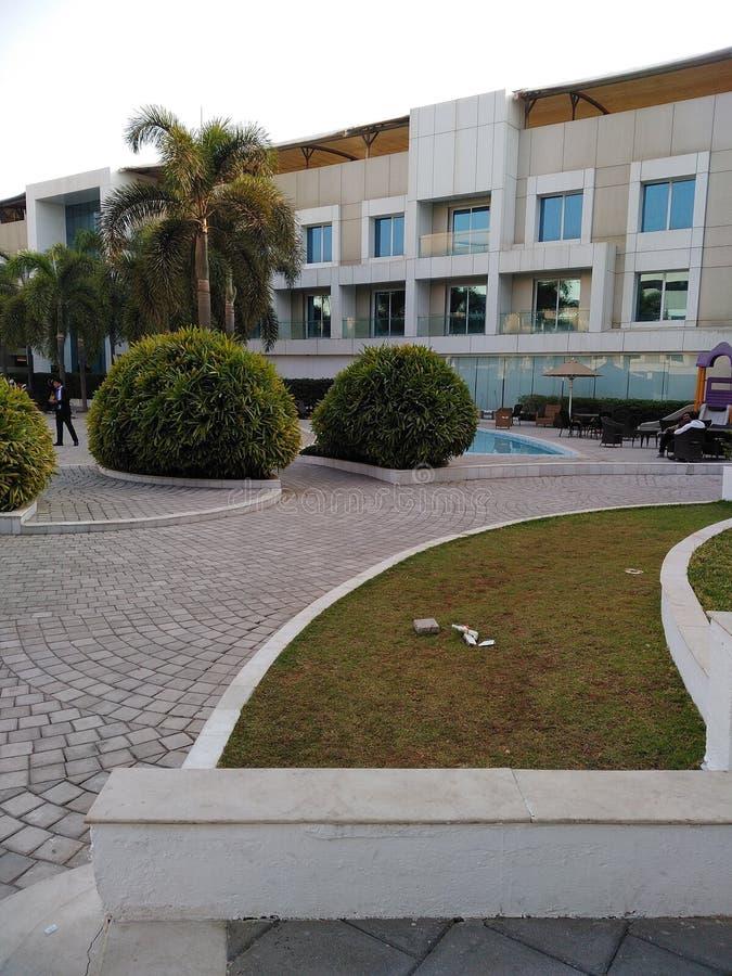 Ένα όμορφο πέντε αστέρων ξενοδοχείο στοκ εικόνες με δικαίωμα ελεύθερης χρήσης