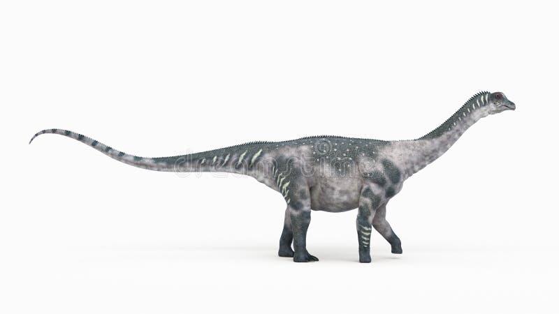 ένα antarctosaurus ελεύθερη απεικόνιση δικαιώματος