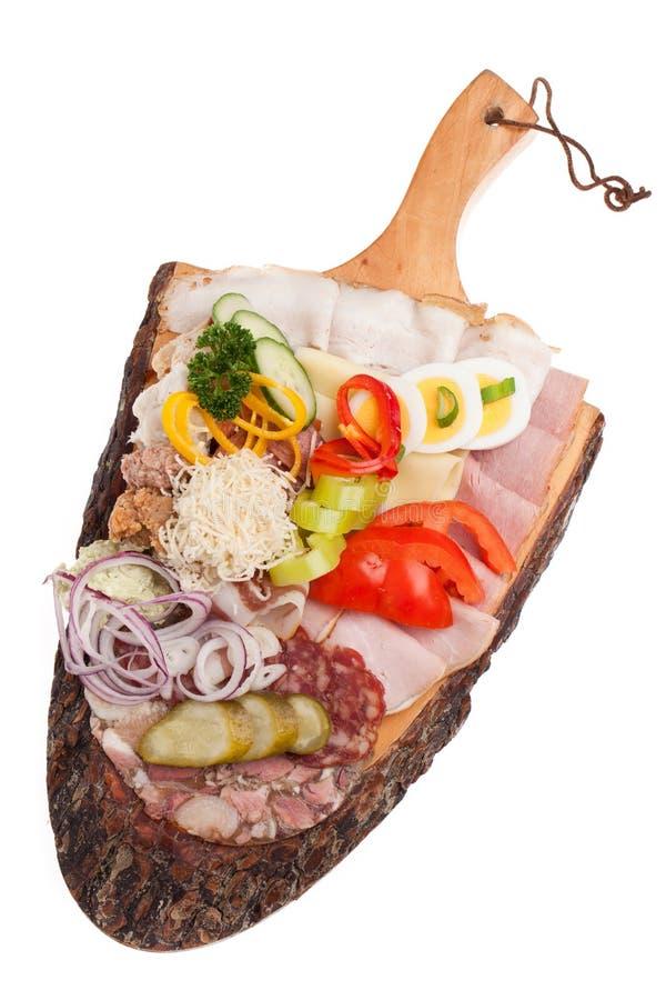 Ένα sytrian πρόχειρο φαγητό που απομονώνεται στο άσπρο υπόβαθρο στοκ φωτογραφίες
