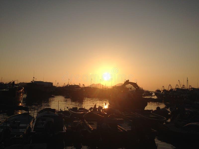Ένα wounderful ηλιοβασίλεμα [Cheung Chau Χονγκ Κονγκ] στοκ φωτογραφία με δικαίωμα ελεύθερης χρήσης