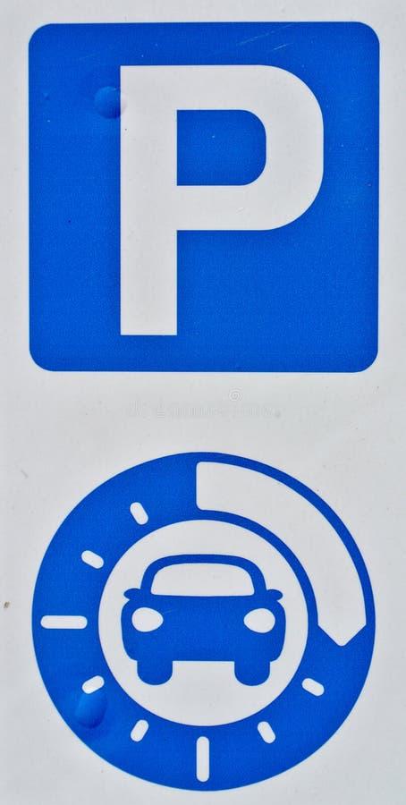 Ένδειξη του χρονικού χώρου στάθμευσης στοκ φωτογραφία με δικαίωμα ελεύθερης χρήσης
