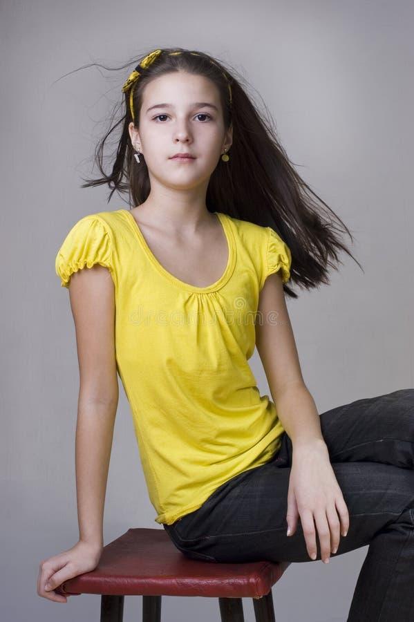 ένδεκα έτη πορτρέτου κορι&t στοκ φωτογραφία με δικαίωμα ελεύθερης χρήσης