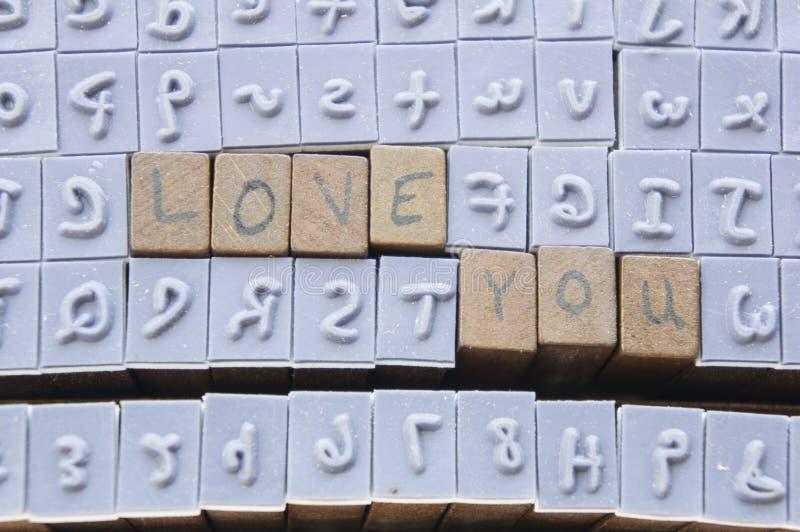 Έννοια λέξης πηγών τύπων αλφάβητου επιστολών γραμματοσήμων στοκ εικόνες