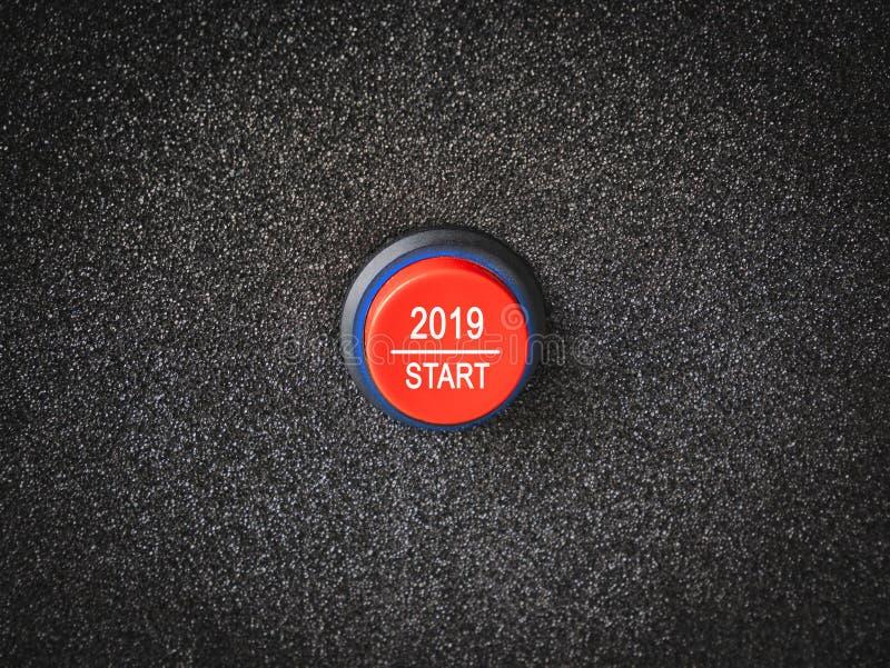 έννοια έτους nws του 2019 στοκ εικόνες με δικαίωμα ελεύθερης χρήσης