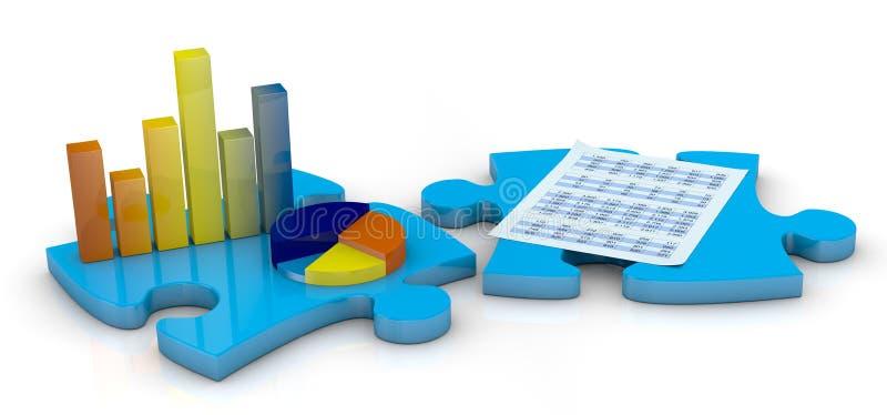 έννοια ανάλυσης οικονομική διανυσματική απεικόνιση