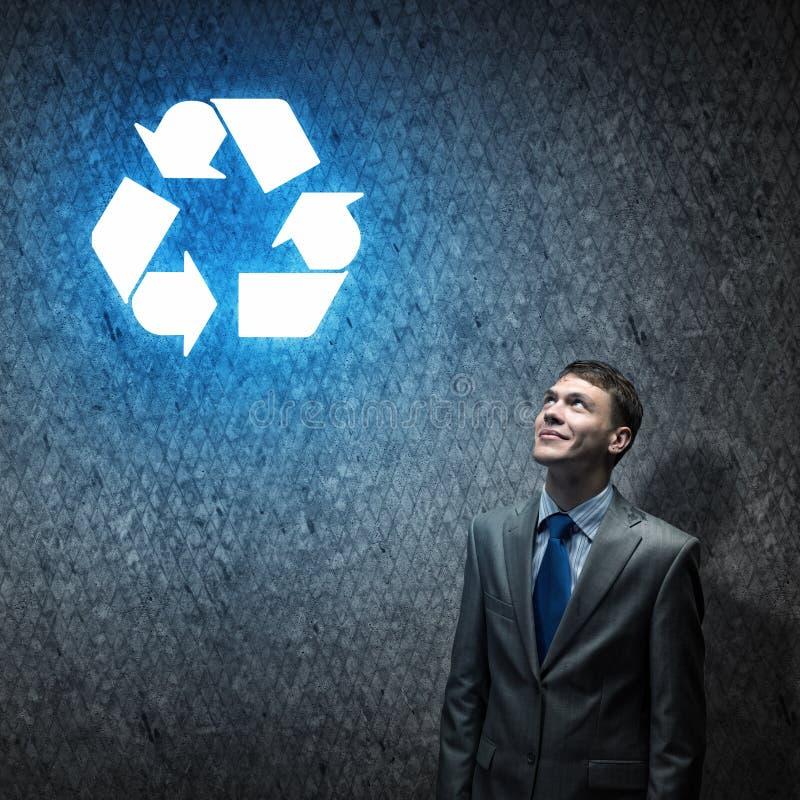 Έννοια ανακύκλωσης στοκ φωτογραφίες με δικαίωμα ελεύθερης χρήσης