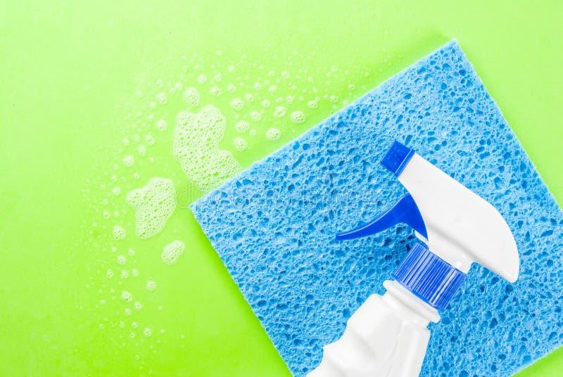 Έννοια ανοιξιάτικου καθαρισμού στοκ εικόνα με δικαίωμα ελεύθερης χρήσης