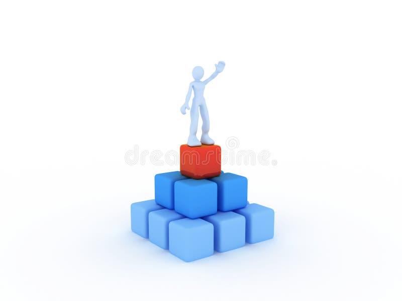 έννοια ανταγωνισμού διανυσματική απεικόνιση