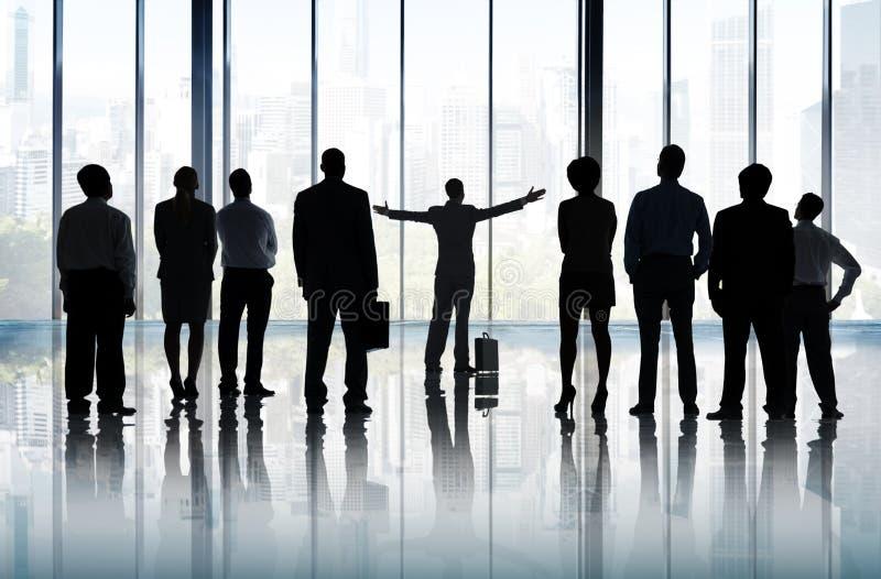 Έννοια αποστολής οράματος προγραμματισμού ηγεσίας στόχου φιλοδοξίας στοκ εικόνες