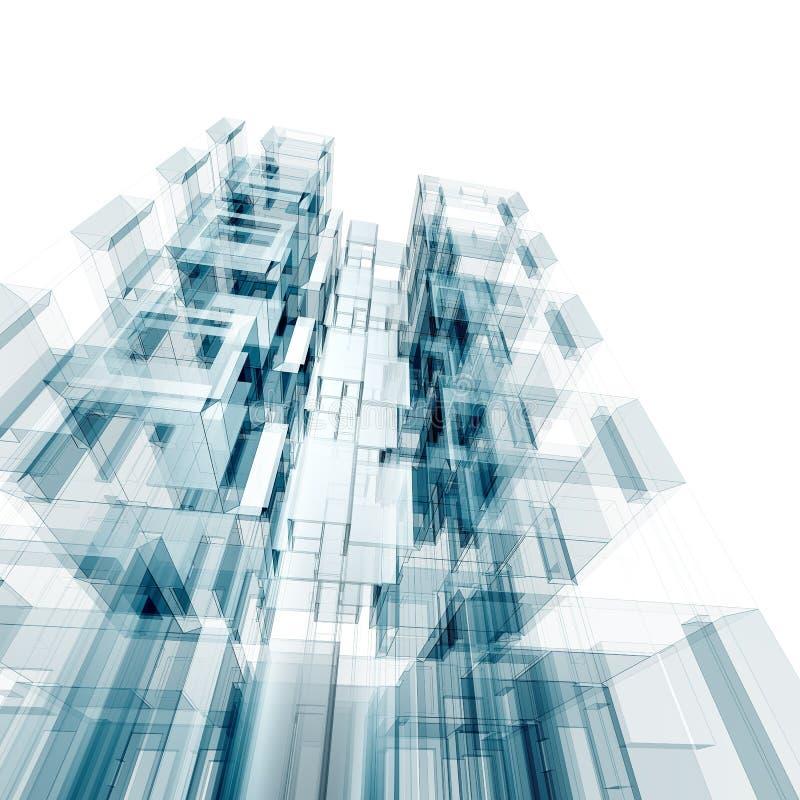 Έννοια αρχιτεκτονικής διανυσματική απεικόνιση