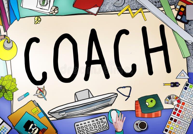 Έννοια δασκάλων διευθυντών ηγετών εκπαιδευτικών οδηγών προγύμνασης λεωφορείων διανυσματική απεικόνιση