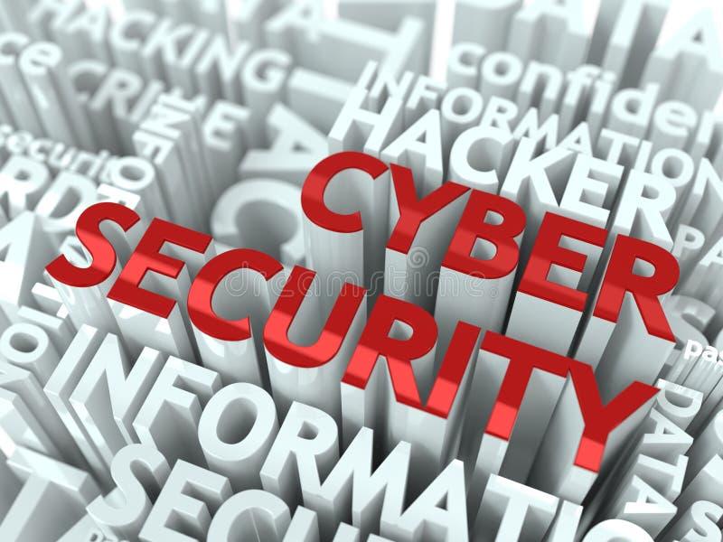 Έννοια ασφάλειας Cyber. ελεύθερη απεικόνιση δικαιώματος