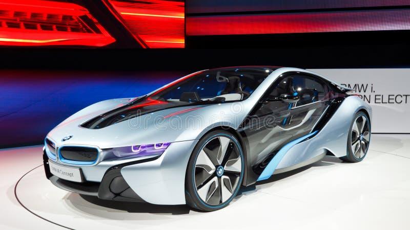 έννοια αυτοκινήτων της Bmw i8 στοκ εικόνα